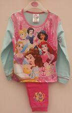 girls pyjamas disney princess pink age 3-4 years. elegant dreams long sleeve