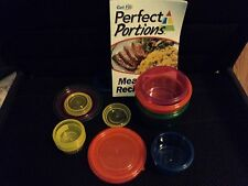 Get Fit Perfect Portions 14 Piece Portion Control Containers | AS SEEN ON TV NEW