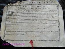 DIPLOME DE MAITRE DE CONFERENCE FACULTE DE MEDECINE DE MONTPELLIER 1767 (2)