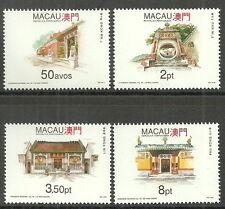 Macao-Tempio (II). POST fresco 1993 MER. 713-716