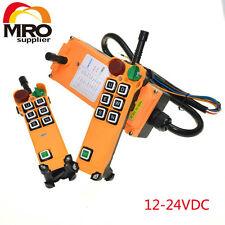 12-24VDC 6 Channels 1 Speed  Hoist Crane Truck Radio Remote Controller