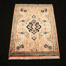 Orient Teppich Seide 76 x 60 cm Perserteppich Seidenteppich Alt Silk Carpet Rug