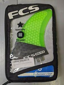 FCS MR TFX PC Carbon Tri surfboard fins