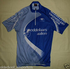 "ULTIMA ""Peddelaars Aalten"" / vtg MENS Bike / cycling Shirt / Jersey. Size 4 (S?)"