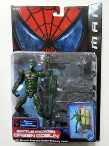 Marvel Spider-Man Green Goblin Series 3 Figure 2002 Toy Biz Spiderman Movie