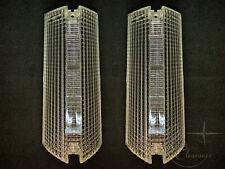 1974-1979 Lincoln Town Car Park (Turn Signal) Light Lens PAIR (D4VY13208A)