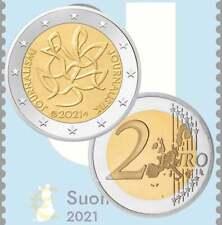 2 euro – Journalism – Finland – 2021 – UNC