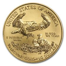 Moneta oro USA 1/4 oncia 10 dollari American Eagle Gold coin 1/4 oz