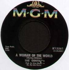 "GENTRYS ~ A WOMAN OF THE WORLD / TWO SIDES TO EVERY STORY ~ 1966 US 7"" SINGLE"