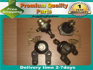 4 FRONT UPPER LOWER BALL JOINT  FOR NISSAN PICKUP D21 4WD 4X4 86-97