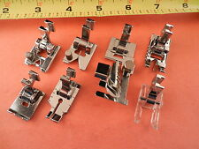 7 piece Special foot set Low Shank SINGER FEATHERWEIGHT 221 , 222, 201