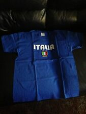 "Italia Italy Soccer Tshirt ""Italia 2006"" Flag Youth XL NWOT"