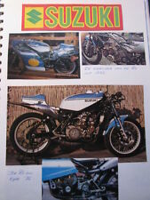 Clipping / artikel  / photo Suzuki RG500 (NED/GER/GBR)