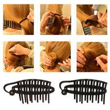 Hair Bun Maker Donut Styling Bands Former French Twist Magic DIY Easy Tool