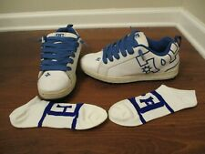 Classic Combo Used Sz 12 DC Shoes Court Graffik Shoes + Brand New DC Socks