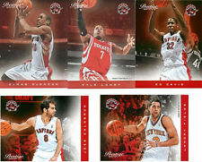 2012-13 Prestige DeMar DeRozan Kyle Lowry Jose Calderon Toronto Raptors NM NBA