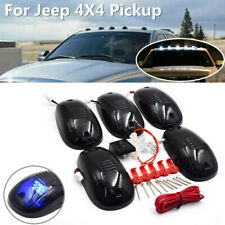 5Pc Car Roof Top LED Marker Running Light Kit Truck SUV For Jeep 4X4 Pickup Blue