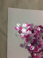 Pink & Silver 18th Birthday Party Table Confetti Decorations Age Sprinkles
