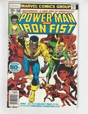 Power Man & Iron Fist #50/Bronze Age Marvel Comic Book/Team Up Begins/VF+
