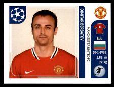 Panini Champions League 2011-2012 - Dimitar Berbatov Manchester United FC No.156