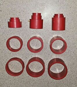 CGW Arbor Size Reducing Bushing Adapters For Grinding, Buffing, Wire Wheels