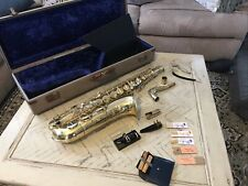 1956 HOHNER President Tenor SAXOPHONE with  Case & Accessories by Max Keilwerth