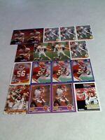 *****Dino Hackett*****  Lot of 85 cards.....20 DIFFERENT / Football