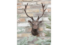 Stag Head Wall Art, Hanging stag head decorative wall ornament