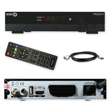 HD Sat Receiver WWIO TRINITY USB HD Media player Full HD TV HDMI digital 3D