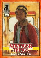 Stranger Things Welcome Upside Down ORANGE CHARACTER PARALLEL #5 LUCAS SINCLAIR