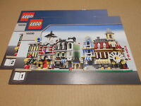LEGO Instructions ONLY MINI MODULARS Instruction Booklets from Set 10230 2 Books
