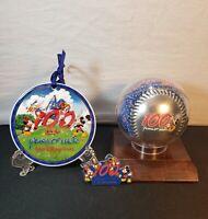 2001 Walt Disney World 100 Years Of Magic Baseball Hat Pin Ornament