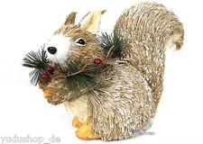 déco écureuil Décoration Maison de campagne Fait à la Main Matériaux Naturels