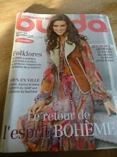 👗 N° 117 MAGAZINE BURDA  LE RETOUR DE L'ESPRIT BOHEME SEPTEMBRE  2009