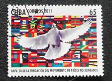 1Cuba   Sc# 5229  NON-ALIGNED COUNTRIES  MOVEMENT     2011  used / cancelled cto
