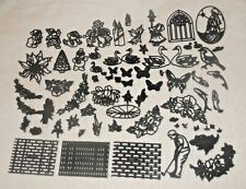JOB LOT 70 + PATCHWORK CUTTERS Christmas Animal Butterfly Bee Cake Decorating