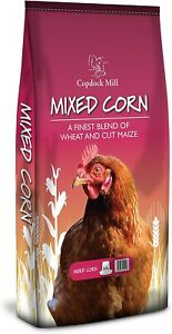 Copdock Mill Mixed Corn Poultry Chicken Feed Mix 20 kg