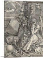 ARTCANVAS Melencolia I 1514 Canvas Art Print by Albrecht Durer
