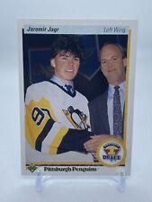 New listing 1990 Upper Deck Hockey Jaromir Jagr #356 Rookie RC - Pittsburgh Penguins 🐧