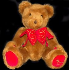 Vintage 1997 Limited Edition Harrods Knightsbridge Uk Foot Dated Christmas Bear