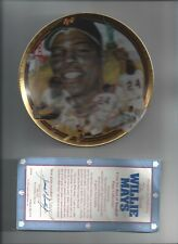 1993 The Hamilton Collection WILLIE MAYS PLATE BASEBALL MLB