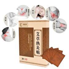 30pcs Warm Moxibustion Plaster Wormwood Herbal Medicine Paste Health Care 艾灸贴温灸贴