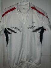 Men's Oxylane B'Twin Half Zip Cycling Shirt Jersey Sport Bike Size Small