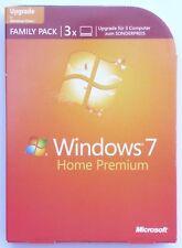 Microsoft Windows 7 Home Premium - Upgrade/Update - Family Pack  für 3 PCs -