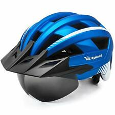 Fahrradhelm VICTGOAL MTB Mountainbike Helm abnehmbarem magnetischem Visier