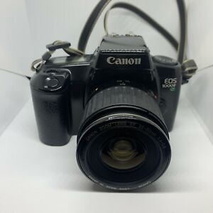 Canon EOS 1000F SLR Film Camera with 35-80mm lens - Untested