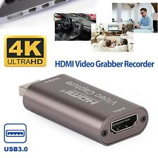 HDMI to USB 3.0 4K 30Hz Audio Video Capture Card Game Recording Live Streaming#
