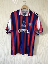 BAYERN MUNICH 1995 1996 HOME FOOTBALL SHIRT SOCCER JERSEY ADIDAS #18