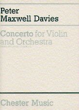 Peter Maxwell Davies: Concerto for Violin and Orchestra (violin and piano reduct