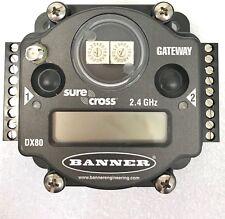 Banner SureCross DX80G2M6S4P4V2V2C-12801 Star 2.4GHz Gateway Receiver Kit